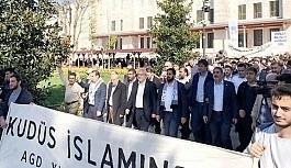 """Toprak Günü'nün 42. yılında düzenlenen """"Büyük Dönüş Yürüyüşü""""ne Türkiye'den destek"""