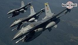 TSK ve MİT'ten Irak'ın kuzeyi Avaşin-Basyan'a hava harekatı
