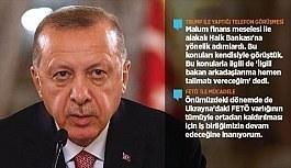 Cumhurbaşkanı Erdoğan: Hedefimiz Münbiç'ten terör örgütleri PYD/YPG'nin çıkmasıdır