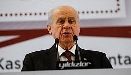 MHP Genel Başkanı Bahçeli: İstanbul, Ankara ve İzmir'de aday göstermeyeceğiz