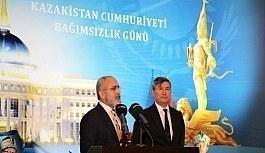 Yalçın Topçu Kazakistan Bağımsızlık Günü Resepsiyonuna Katıldı