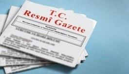 Atama kararları Resmi Gazete'de yayımlandı...