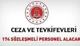 Ceza ve Tevkifevleri 171 sözleşmeli personel alacak