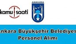 Ankara Büyükşehir Belediyesi Personel Alımı 2019