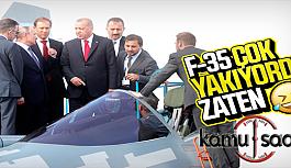 Başkan Erdoğan Rusya'da SU-57'yi İnceledi