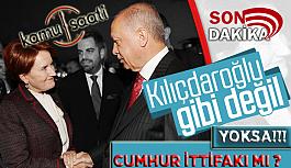 Başkan Erdoğan ve Meral Akşener'den Samimi Pozlar