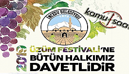 İncesu üzüm festivali 2019, üzüm festivali ne zaman?