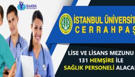 İstanbul Cerrahpaşa Üniversitesi sözleşmeli...