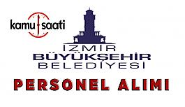 İzmir Büyükşehir Belediyesi Personel Alımı 2019