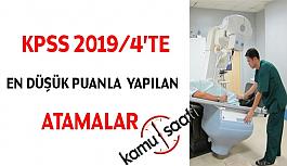 2019/4 KPSS Tercih Sonuçları Açıklandı, En Düşük Atama Puanı Ne Oldu ?