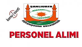 Şanlıurfa Büyükşehir Belediyesi Personel Alımı 2019