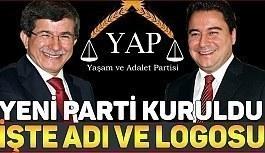 İşte Yaşam ve Adalet Partisi ve Logosu!!!