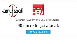 Ankara Hacı Bayram Veli Üniversitesi Rektörlüğü...