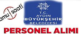 Aydın Büyükşehir Belediyesi Personel Alımı 2019