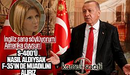 Cumhurbaşkanı Erdoğan: F-35'lerin...
