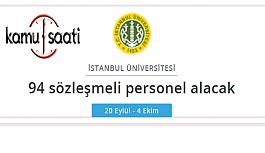 İstanbul Üniversitesi Rektörlüğü Personel...