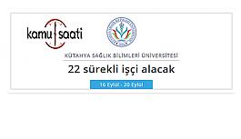 Kütahya Sağlık Bilimleri Üniversitesi...