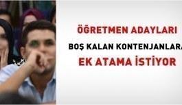 Ögretmen Boş Kontenjanlara Adayları Ek...
