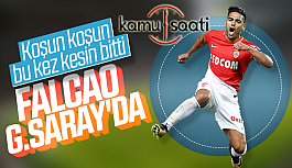 Radamel Falcao Galatasaray'da İstanbul'a Geldi