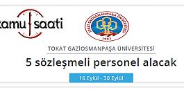 Tokat Gaziosmanpaşa Üniversitesi Personel...