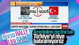 Amerikanın Yaptırımlarının Türkiye...