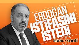Mustafa Yeneroğlu Başkan Erdoğan'ın İsteği Üzerine, AK Parti'den İstifa Etti