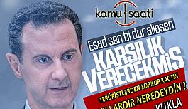 Beşar Esad Korkağından Türkiye'ye...