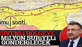 Fuat Oktay: Suriye'de Oluşturulacak...