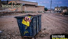 Suriye Tel Abyad'da Öcalan Posterleri...