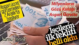2020 Yılı Asgari ücret pazarlığında işçilerden ilk teklif | Türk-İş Sendikası Asgari Ücret Teklifi