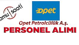 OPET Petrolcülük A.ş. Personel Alımı