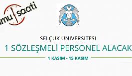 Selçuk Üniversitesi Rektörlüğü Sözleşmeli Personel Alımı