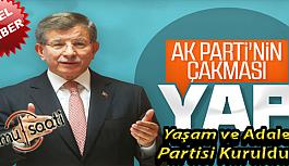 Ahmet Davutoğlu'nun Partisinin İsmi:...