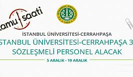İstanbul Üniversitesi Cerrahpaşa Rektörlüğü...