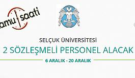 Konya Selçuk Üniversitesi 2 Sözleşmeli...