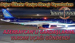 Azerbaycan Elazığ Depremi İçin Yardım Uçaklarını Gönderdi