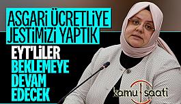 Bakan Zehra Zümrüt Selçuk'tan Asgari Ücretlilere Üzücü Haber!