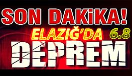 Elazığ'da şiddetli deprem 6.8 Tüm Anadolu da hissedildi!