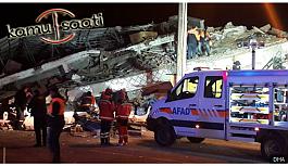 Elazığ ve Malatya illerinde yaşanan depremde...