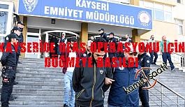 Kayseri'de DEAŞ Operasyonu düzenlendi  5 kişi tutuklandı
