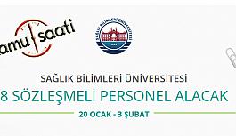Sağlık Bilimleri Üniversitesi 8 Sözleşmeli Bilişim Personeli Alımı