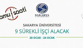 Sakarya Üniversitesi 9 İşçi Personel Alımı