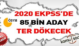 2020 Yılı EKPSS Sınavında Yaklaşık 85 Bin Aday Ter Dökecek