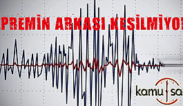 Depremler ülkemizi Adeta Esir Aldı Manisa da Son Durum!