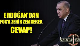 Erdoğan'dan Fox muhabirine Büyük Uyarı!