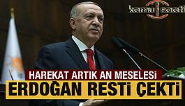 Erdoğan'dan Şok  İdlib harekatı açıklaması: An meselesi