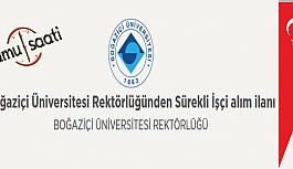 Boğaziçi Üniversitesi Rektörlüğü Sürekli İşçi Personel Alım İlanı