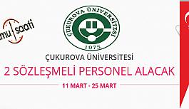 Çukurova Üniversitesi 2 Sözleşmeli Hemşire Alımı Personel Alımı