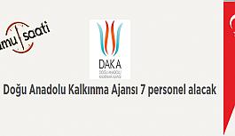 Doğu Anadolu Kalkınma Ajansı 7 Personel Alımı İş Başvurusu ve Başvuru Formu