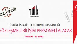 Türkiye İstatistik Kurumu Başkanlığı 9 Sözleşmeli Bilişim Personeli Alımı
